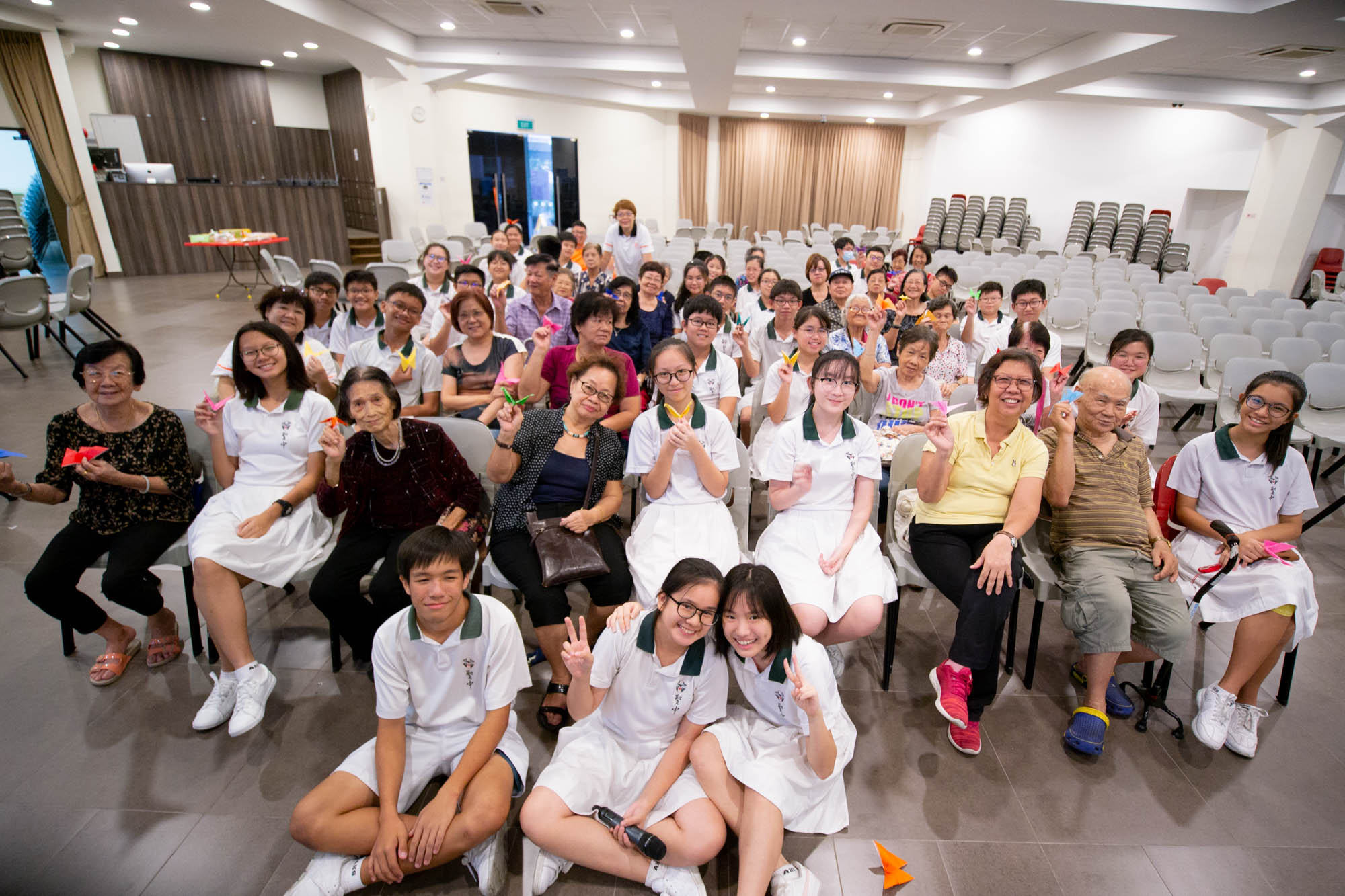 Community Service Project with ACJC
