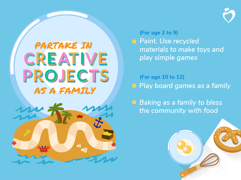Partake in Creative Projects as a Family