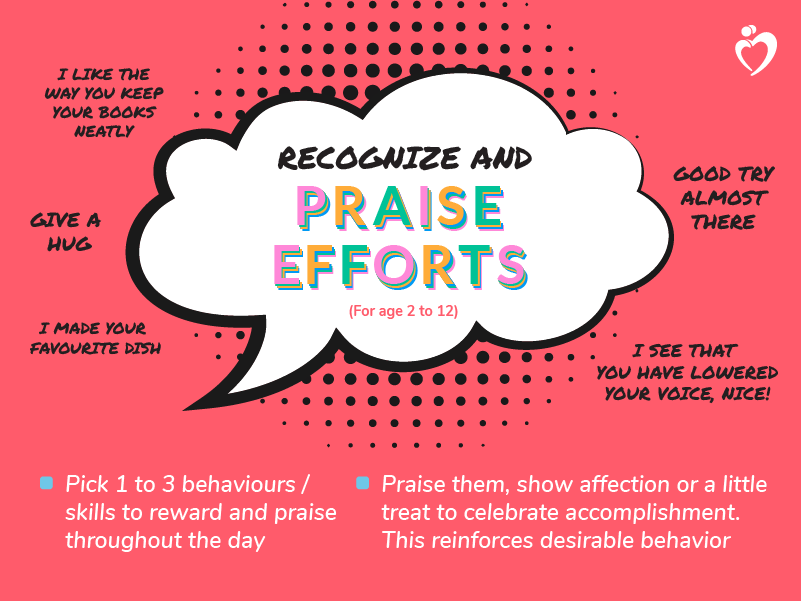 Recognize and Praise Efforts